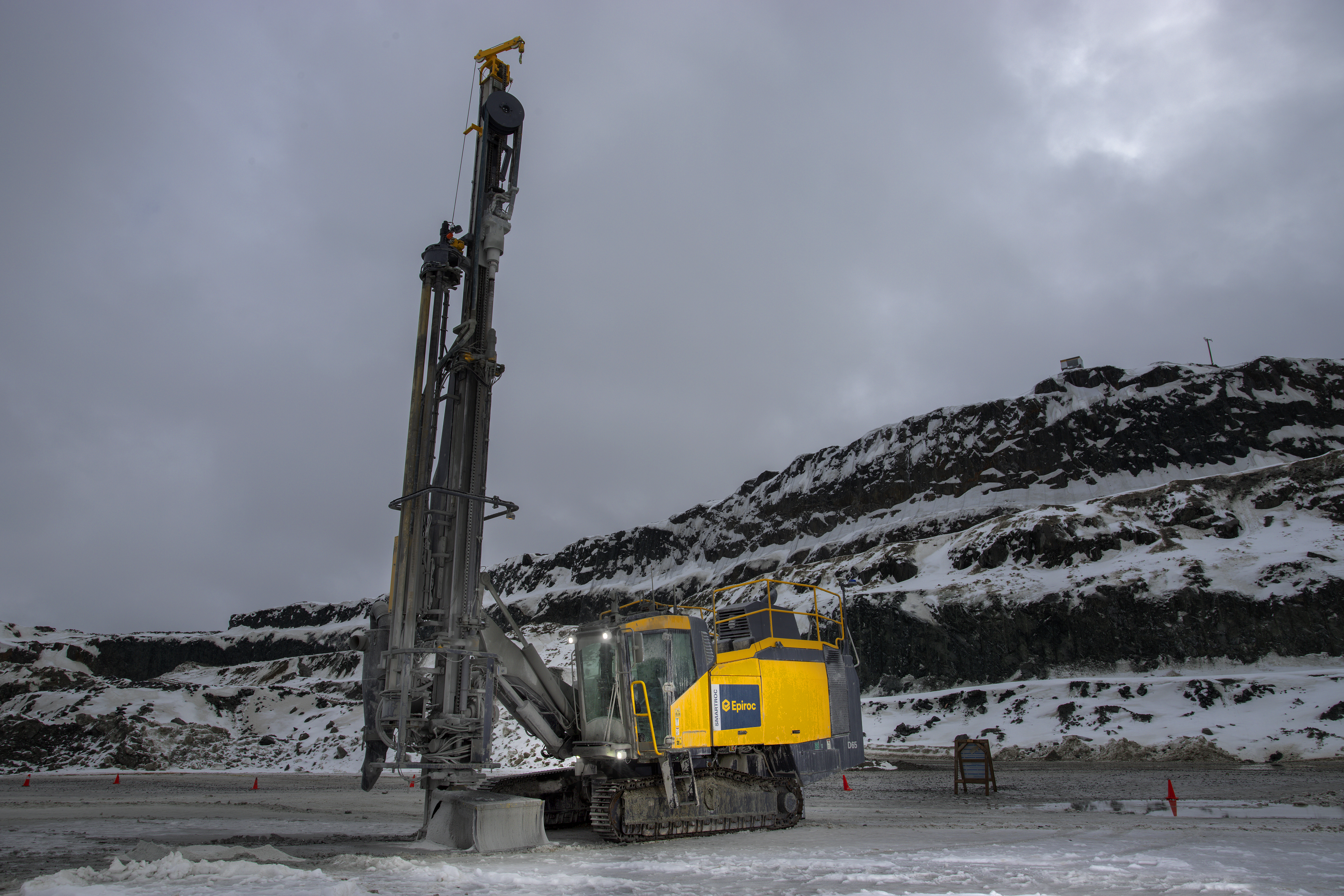 Important milestone in surface drilling automation | Epiroc